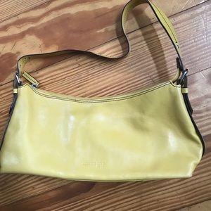 Handbags - Butter Yellow Leather Bag